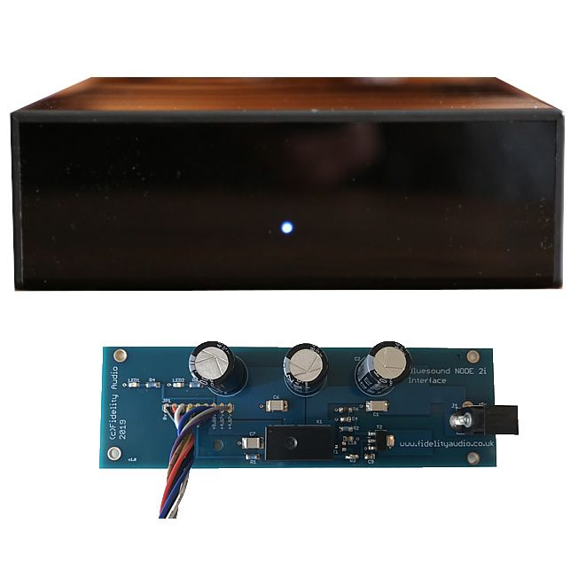 Bluesound NODE 2 & 2i PRO Low noise PSU + Interface