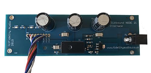 Bluesound Vault 2i Low noise PSU + Interface
