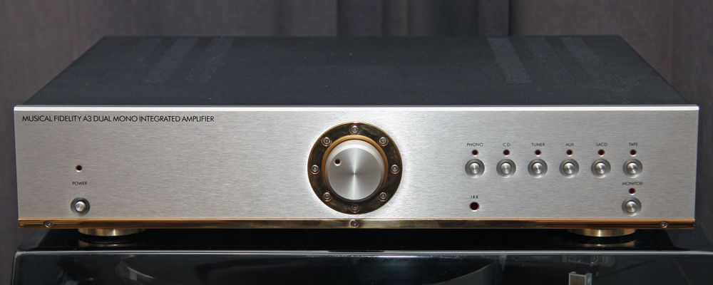 Musical Fidelity A3 Amplifer Level 1